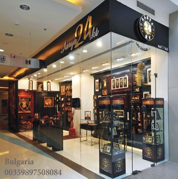 Златни и позлатени сувенири България